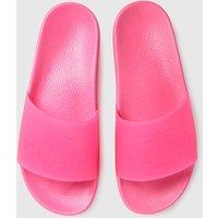 GUESS-Pink-Beach-Slide-Sandals
