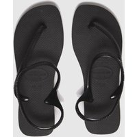 Havaianas Black Flash Urban Sandals