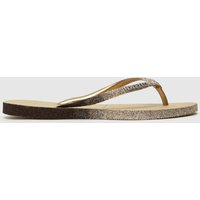 Havaianas Gold Slim Sparkle Sandals