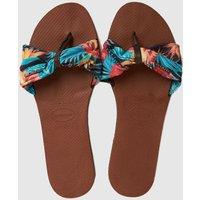 Havaianas Brown & Pl Blue You Saint Tropez Sandals