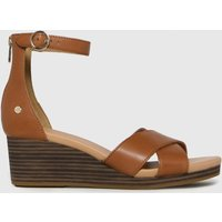 UGG-Tan-Eugenia-Sandals
