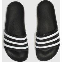 Adidas-Black-and-White-Adilette-Slide-Sandals