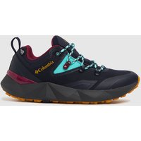 Columbia  Navy & Black Facet 30 Outdry Trainers