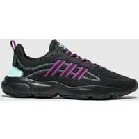 Adidas-Black-and-Pink-Haiwee-Trainers