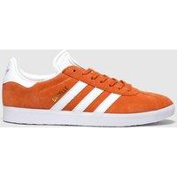 Adidas Orange Gazelle Trainers
