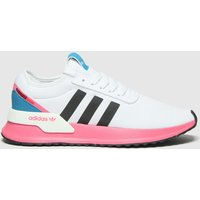 Adidas-White-and-Pink-U-Path-Trainers