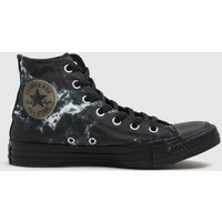 Converse-Black-and-White-Marble-Hi-Trainers