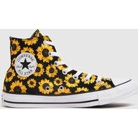 Converse-Multi-Sunflower-Hi-Trainers