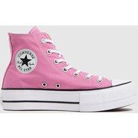 Converse Pink Lift Hi Trainers