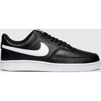 Nike Black & White Court Vision Trainers