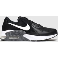 Nike-Black-and-White-Air-Max-Excee-Trainers