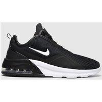 Nike Black & White Air Max Motion 2 Trainers