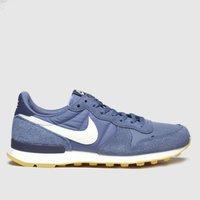 Nike Blue Internationalist Trainers
