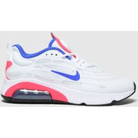 Nike-White-and-Blue-Air-Max-Exosense-Trainers