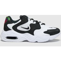 Nike-White-and-Black-Air-Max-2x-Trainers