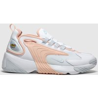 Nike White & Pink Zoom 2k Trainers