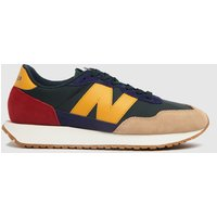 New Balance Navy & Red 237 Trainers