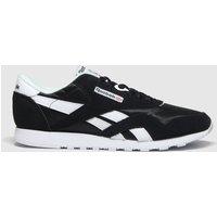 Reebok-Black-and-White-Classic-Nylon-Trainers