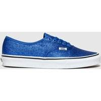 Vans-Blue-Authentic-Glitter-Trainers