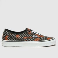 Vans-Black-and-Brown-Authentic-Tiger-Floral-Trainers