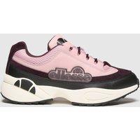 Ellesse Black & Pink Sparta Trainers