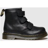 'Dr Martens Black 1460 Strap Boots Toddler