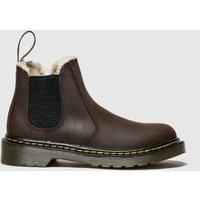 Dr Martens Dark Brown 2976 Leonore Boots Junior