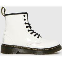 Dr Martens White 1460 Boots Junior