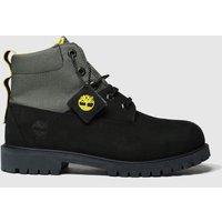 Timberland Black Timb Rebotl 6in Premium Yth Boots Youth