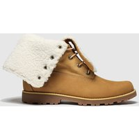 Timberland Tan Authentic 6 Inch Boots Youth