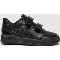 Puma Black Caracal Trainers Toddler
