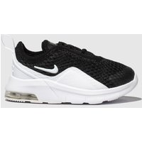 Nike Black & White Air Max Motion 2 Trainers Toddler