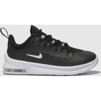Nike Black & White Air Max Axis Trainers Toddler