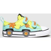 Converse Multi All Star 2v Lo Scooby Trainers Toddler