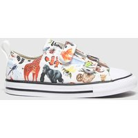 Converse Multi All Star 2v Lo Science Class Trainers Toddler