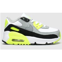 Nike White & Black Air Max 90 Ltr Trainers Toddler