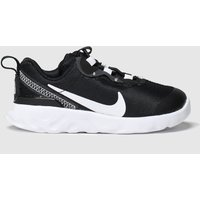 Nike Black & White Renew Element 55 Trainers Toddler