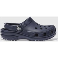 Crocs Navy Classic Clog Sandals Junior