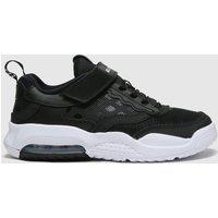 Nike Jordan Black & White Air Max 200 Trainers Junior