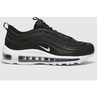 Nike Black & White Air Max 97 Trainers Youth