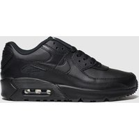 Nike Black Air Max 90 Ltr Trainers Youth