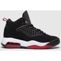 Nike Jordan Black & Red Jordan Maxin 200 Trainers Youth