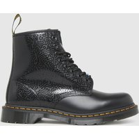Dr-Martens-Black-1460-Keith-Haring-Boots
