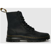 Dr Martens Black Combs Leather Boot Boots