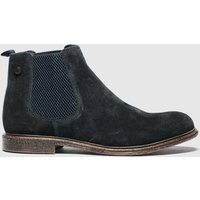 Base London Navy Flint Boots