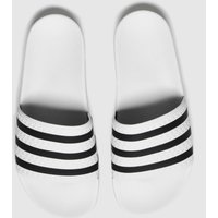 Adidas-White-and-Black-Adi-Adilette-Sandals
