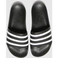 Adidas-Black-and-White-Adilette-Sandals