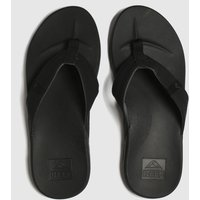 Reef Black Cushion Bounce Phantom Sandals