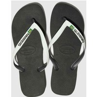 Havaianas Black & White Brasil Mix Sandals