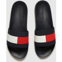 Tommy-Hilfiger-Navy-and-Red-Essential-Flag-Pool-Slide-Sandals